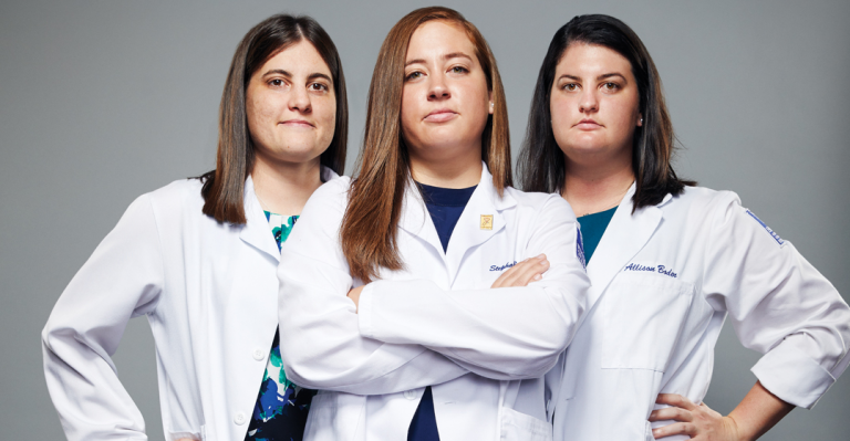 These triplets just graduated from Emory's School of Medicine—joining their family's long line of doctors