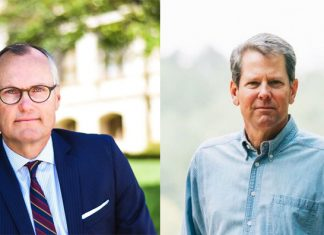 Georgia Governor Runoff Casey Cagle Brian Kemp