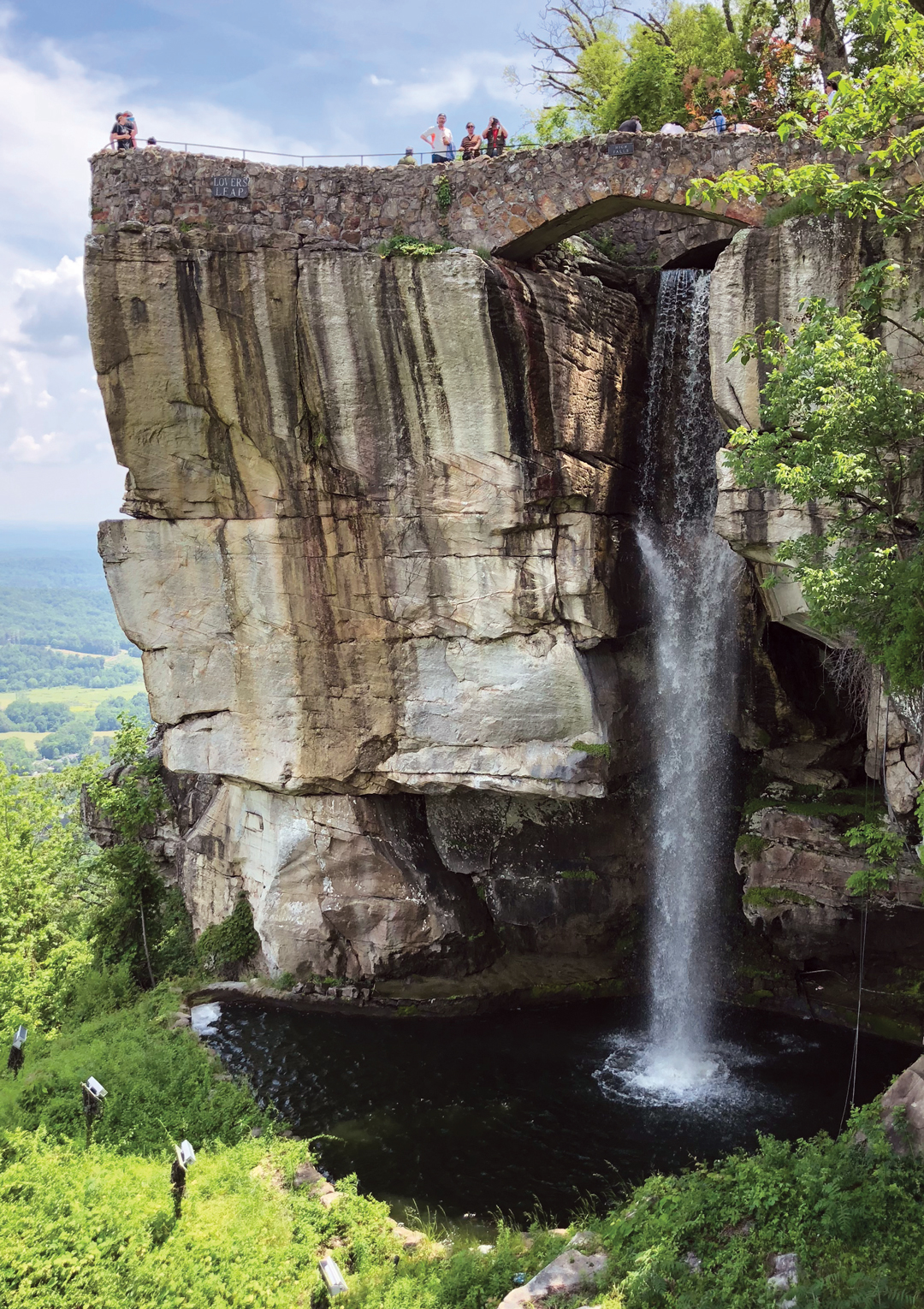 Perfect Day Trips From Atlanta Rock City And Ruby Falls