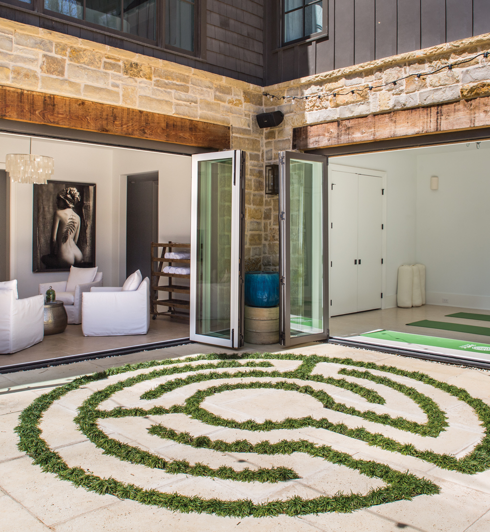 Room Envy: A Tranquil Outdoor Yoga Studio In Serenbe