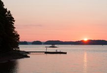 Lake Lanier at sunrise