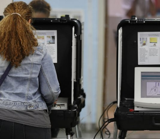 Voting election security hacking Atlanta Georgia