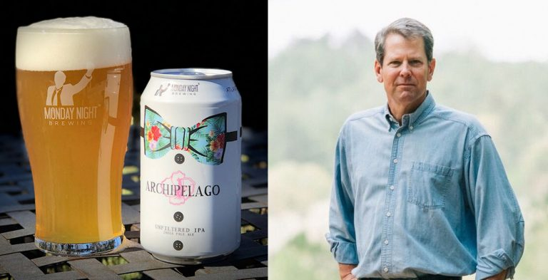 """Monday Night Brewing agreed to host a Brian Kemp event. Outraged fans said, """"Hold my beer."""""""