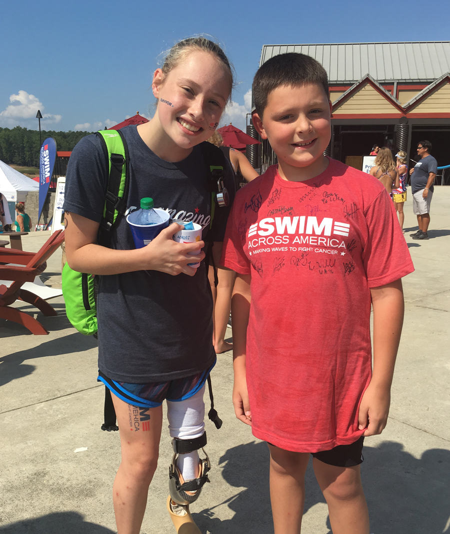 Swim Across America Atlanta Open Water Swim