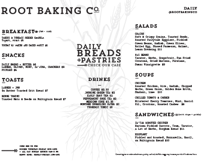 Root Baking Co. Ponce City Market