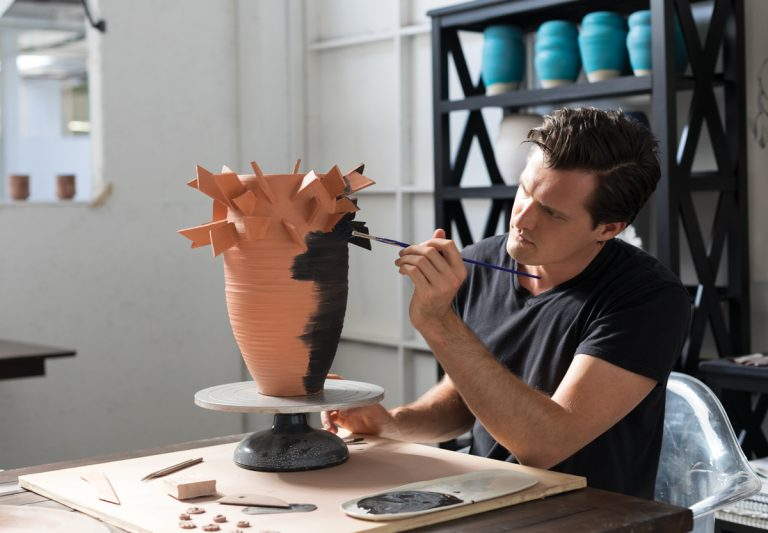Atlanta artist to know: Daniel Zimmerman, ceramicist and founder of Drawing Room