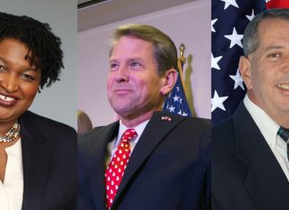 Candidates for Georgia Governor Election 2018 Stacey Abrams Brian Kemp Ted Metz
