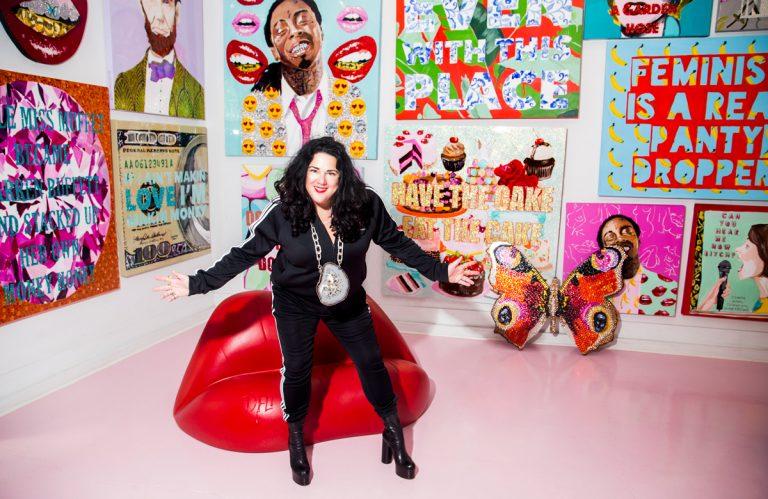 Ashley Longshore's colorful world is coming Atlanta