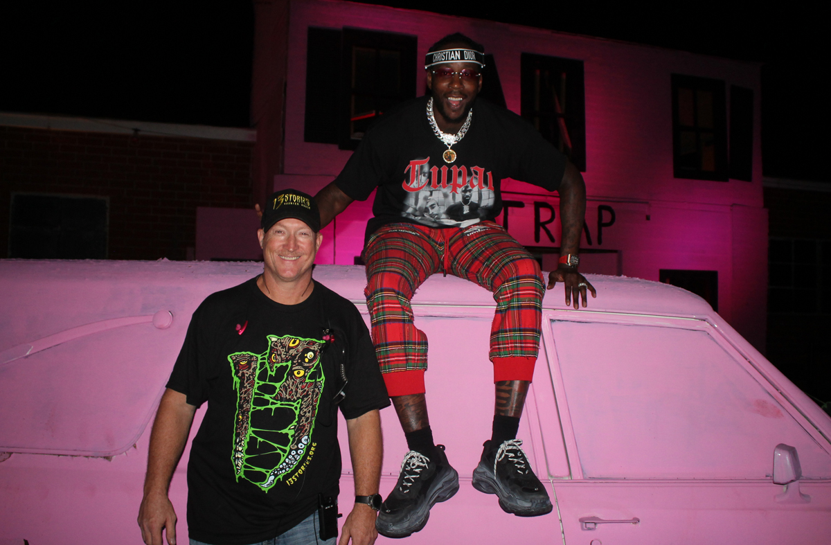 0c9542e2b78 What s inside 2 Chainz s Haunted Pink Trap House  - Atlanta Magazine