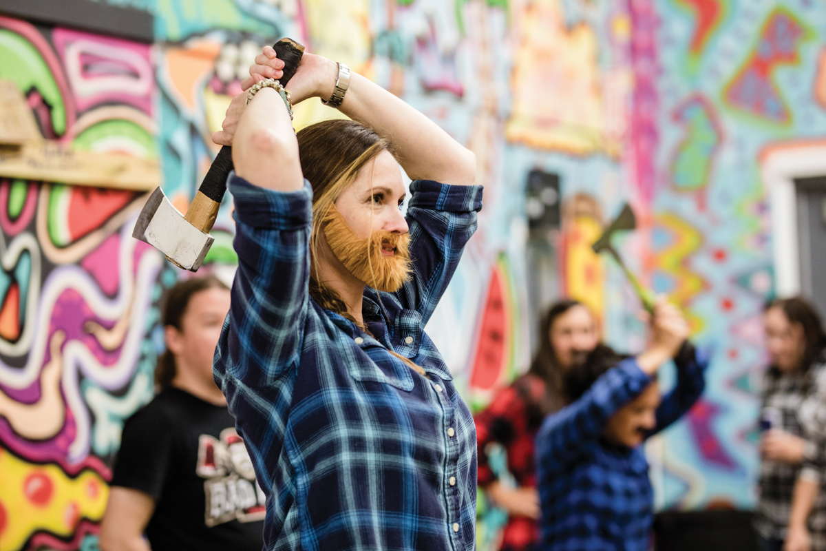 Best of Atlanta 2018: Bad Axe Throwing