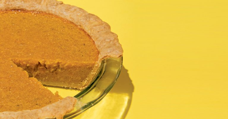 You need chef Zeb Stevenson's papaya squash pie on your Thanksgiving table