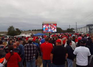 Donald Trump Brian Kemp Rally Macon Georgia Election 2018