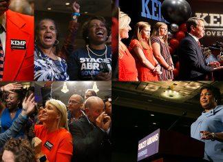 Stacey Abrams Brian Kemp Georgia Governor Election 2018