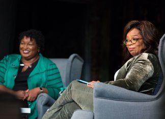 Oprah Winfrey Stacey Abrams Atlanta Election 2018