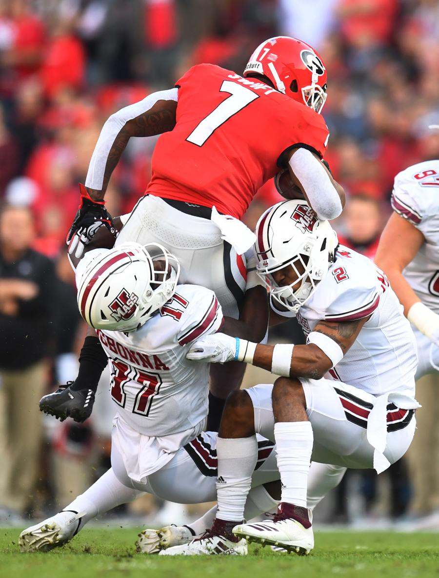 UMass vs University of Georgia football