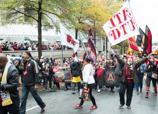 Atlanta United MLS Cup Victory Parade