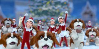 Elf on the Shelf Santa's St. Bernards Save Christmas