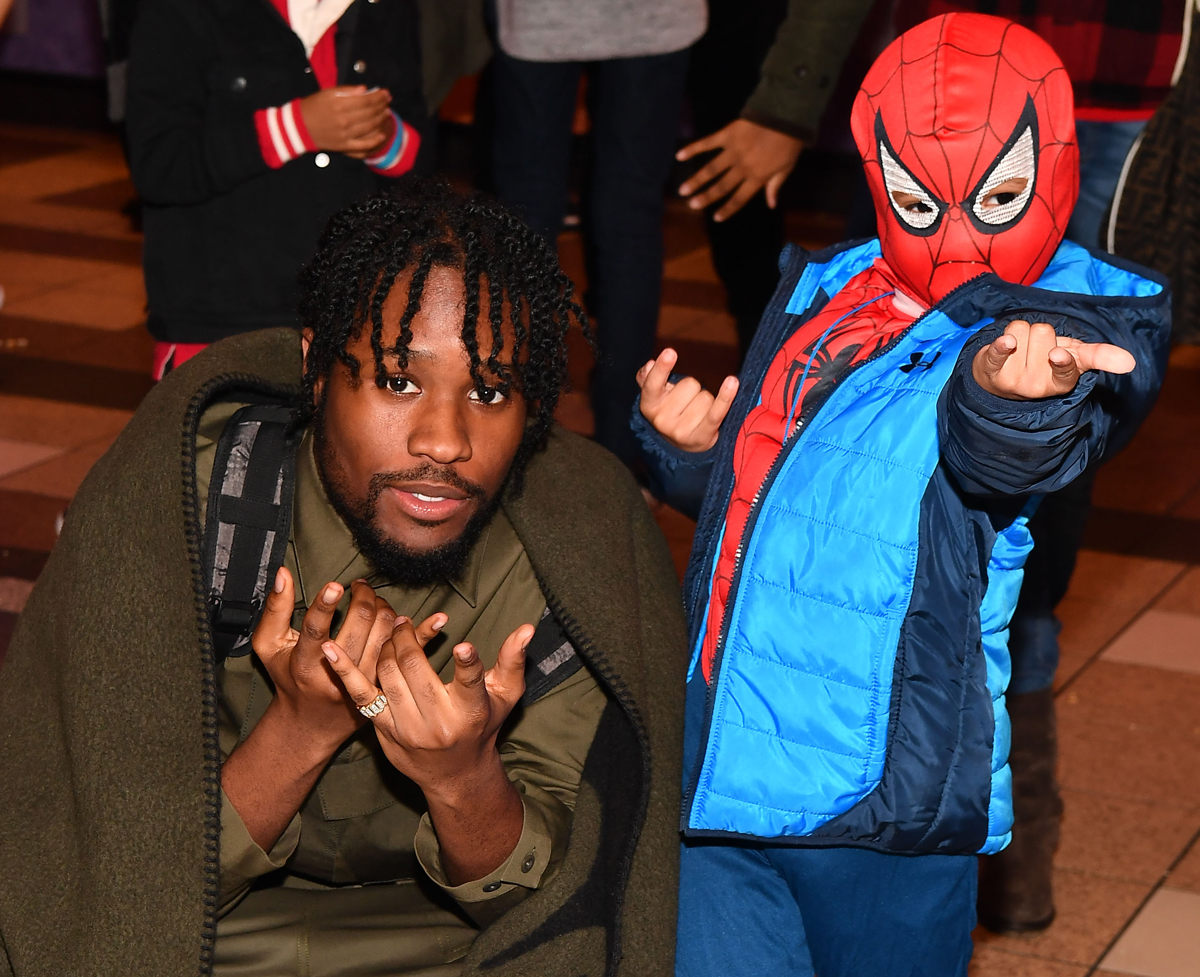 Shameik Moore Spider-Man Into the Spider-Verse