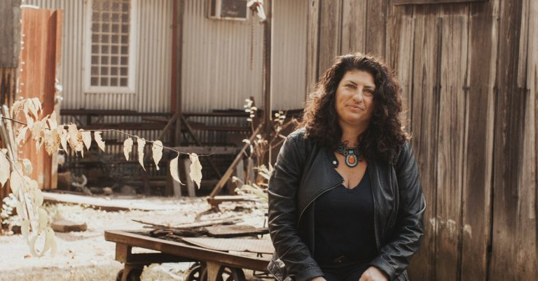 After her mother's death, a successful Atlanta metalworker is exploring her softer side