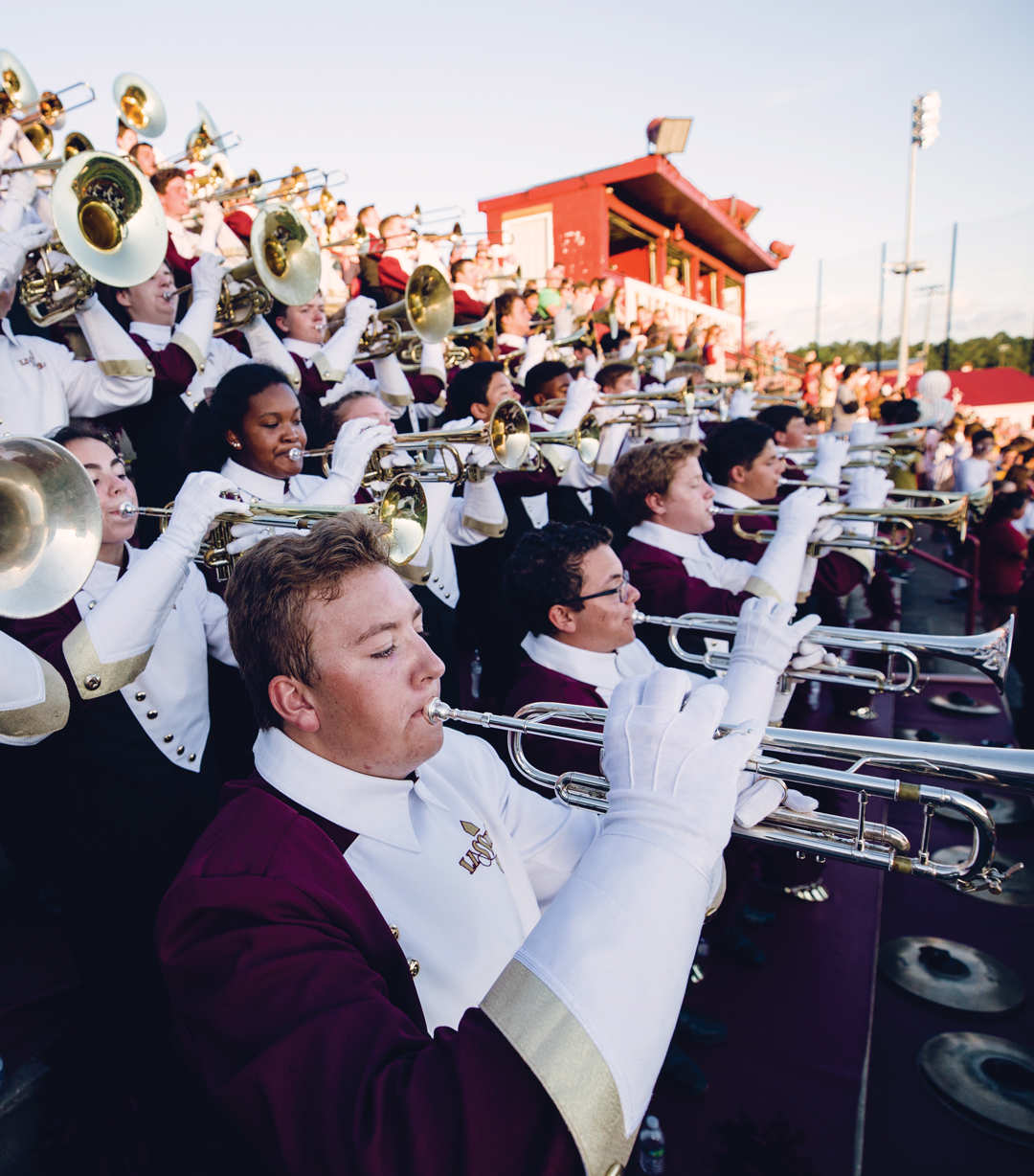 Lassiter Marching Trojan Band