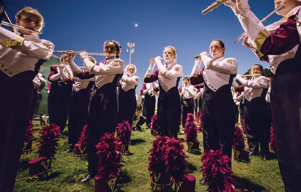 Lassiter High School Band teaches discipline, love for music
