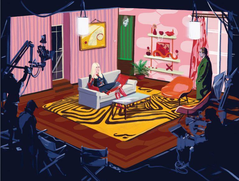 Here's how movies inspire Atlanta interior designer Melissa Galt, great-granddaughter of Frank Lloyd Wright
