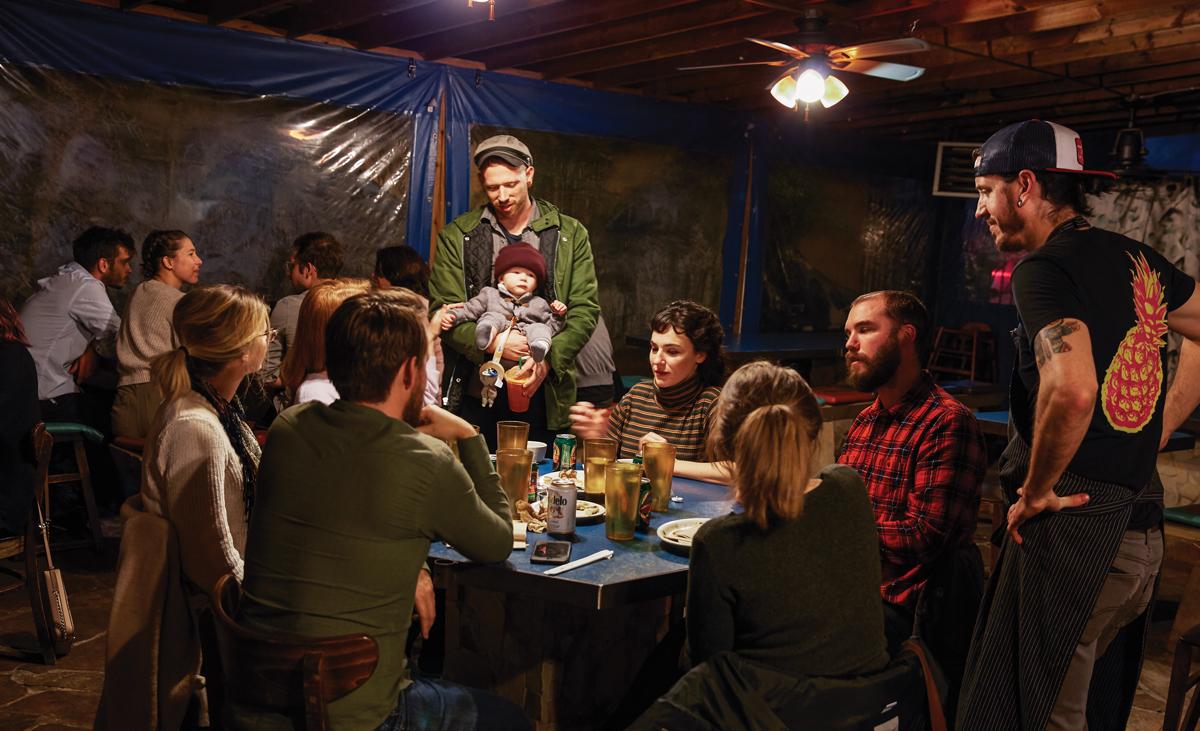 Underground Dining Scene: Ria's Bluebird