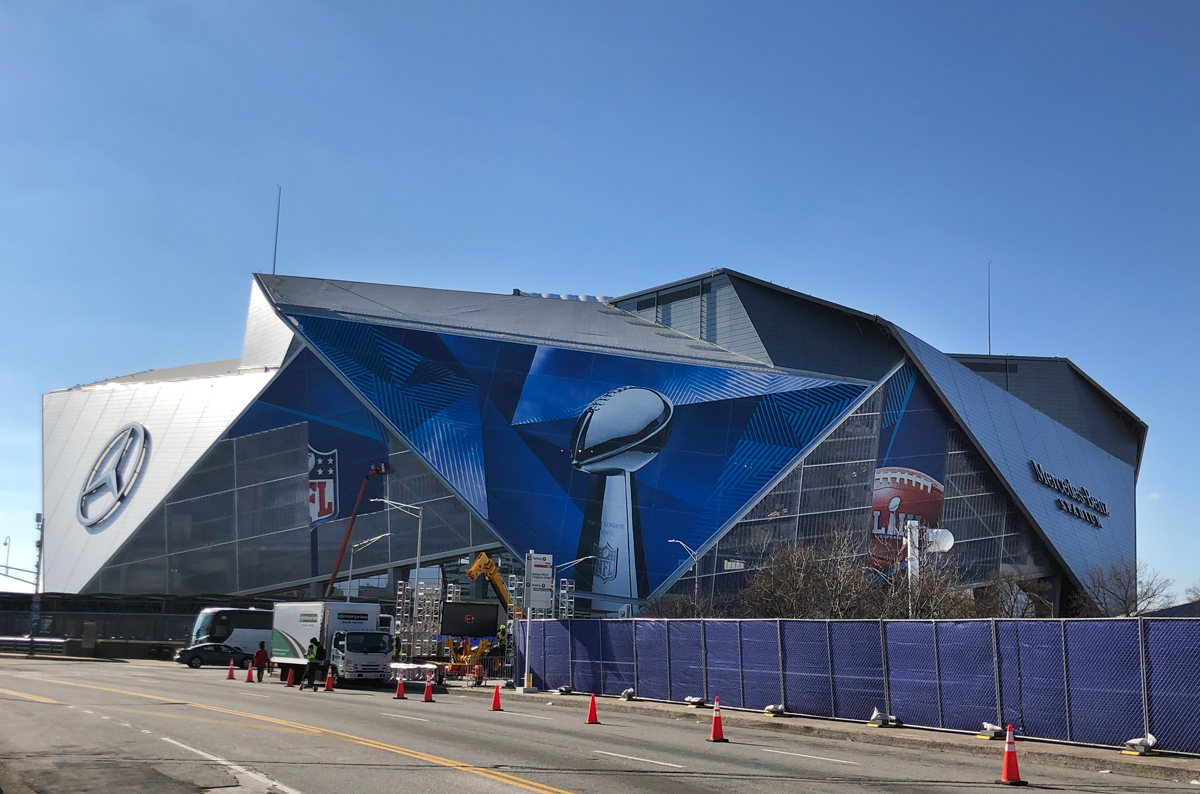 Super Bowl LIVE Atlanta