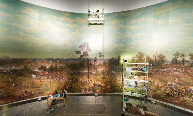 Redeeming the Cyclorama: Why the century-old attraction is anything but a monument to the Confederacy