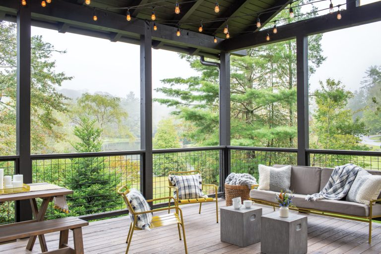 An Atlanta family crafts a rundown ranger station in Highlands into a creative, cozy cottage