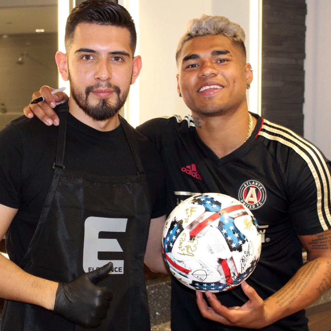 Zuñiga with Josef Martínez