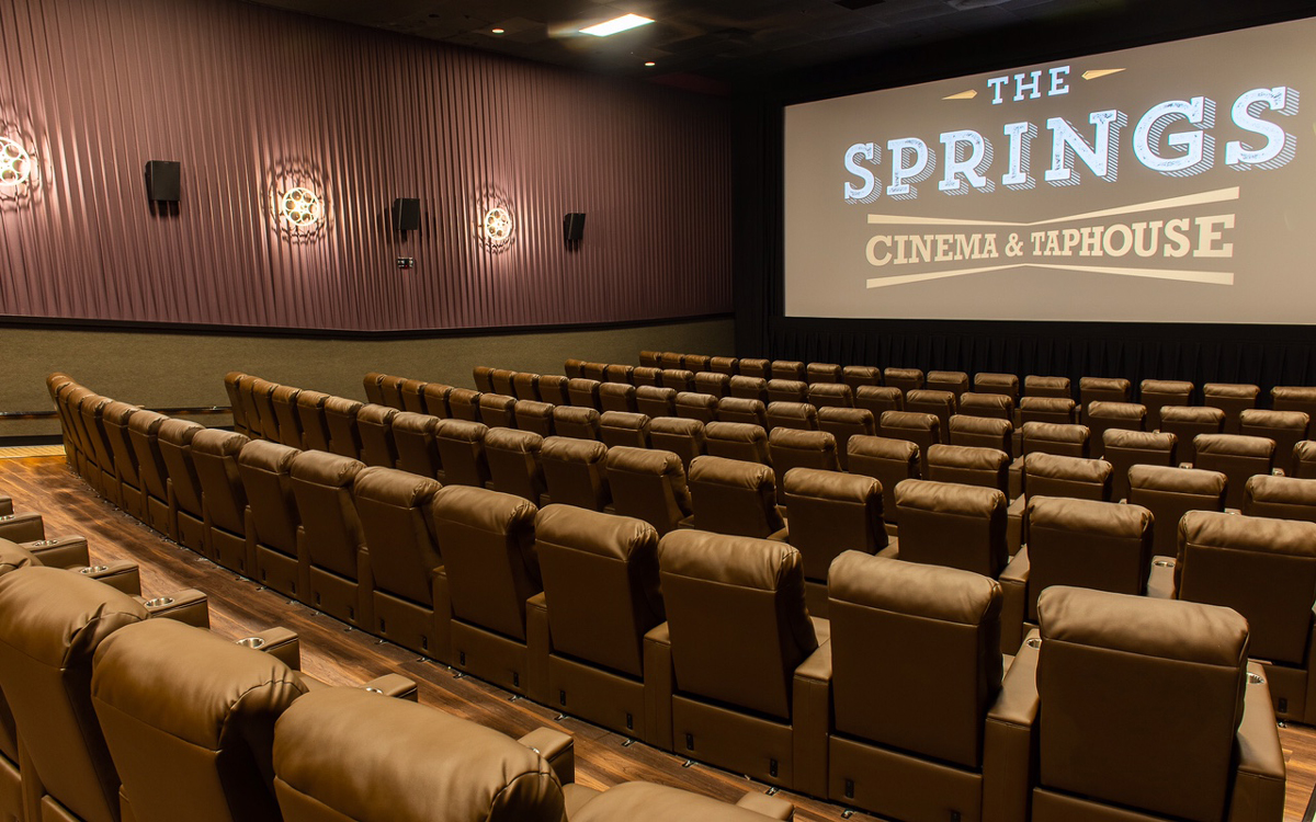 Springs Cinema Amp Taphouse Opens Following A 2 5 Million