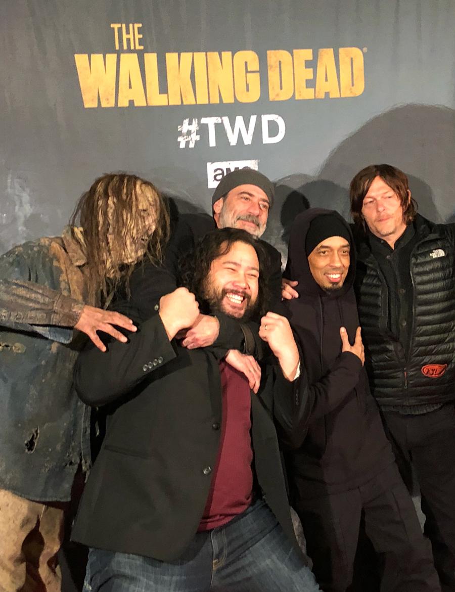 Walking Dead Super Bowl Party Atlanta