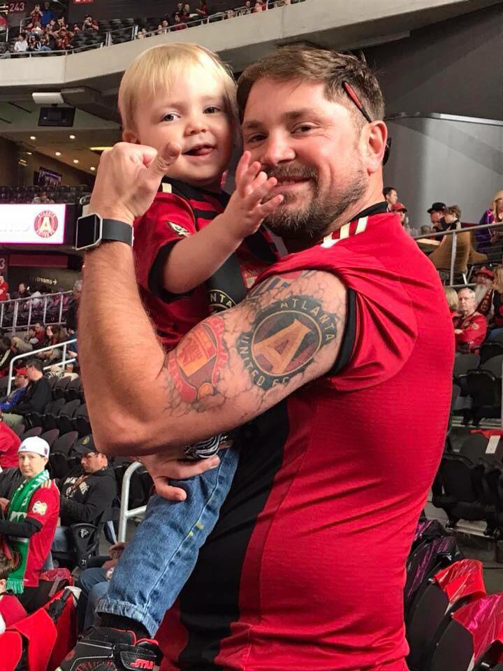 Atlanta United tattoo