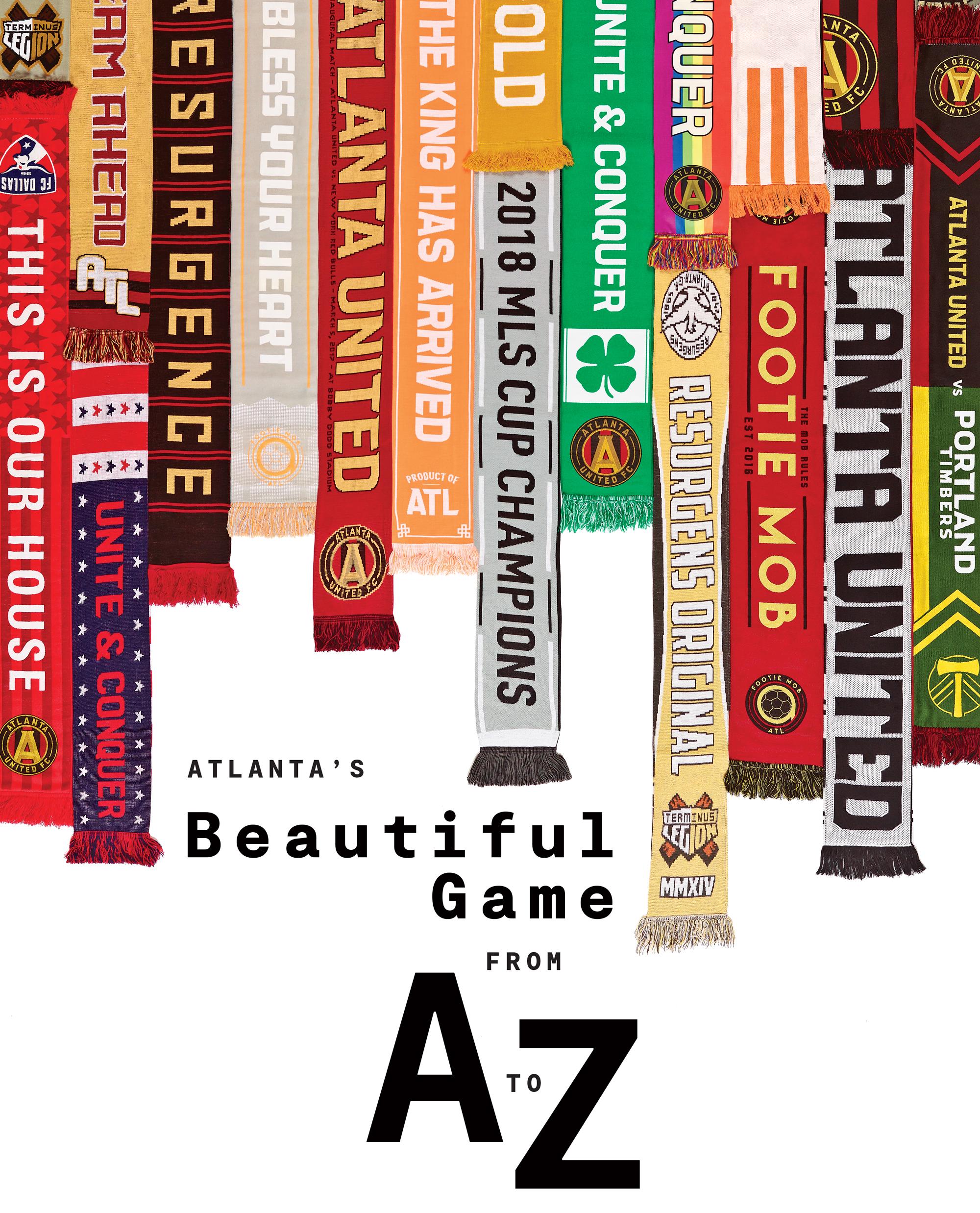 Atlanta United scarfs