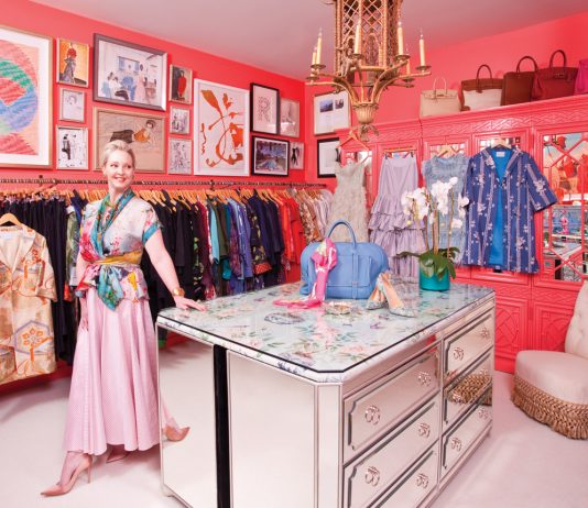 Danielle Rollins Buckhead closet