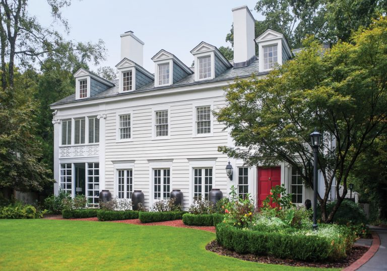 Designed by Neel Reid, this circa-1914 Druid Hills abode is a vibrant family home