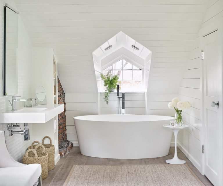 Room Envy: Transforming this Poncey-Highland attic space into a master bath awash in light