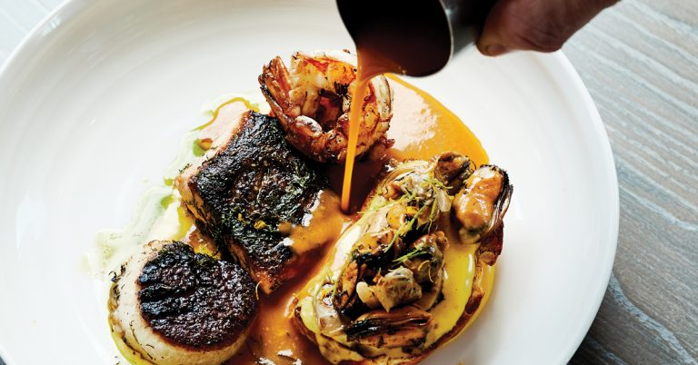 Review: Aix is inspired by the South of France but feels like Westside Atlanta