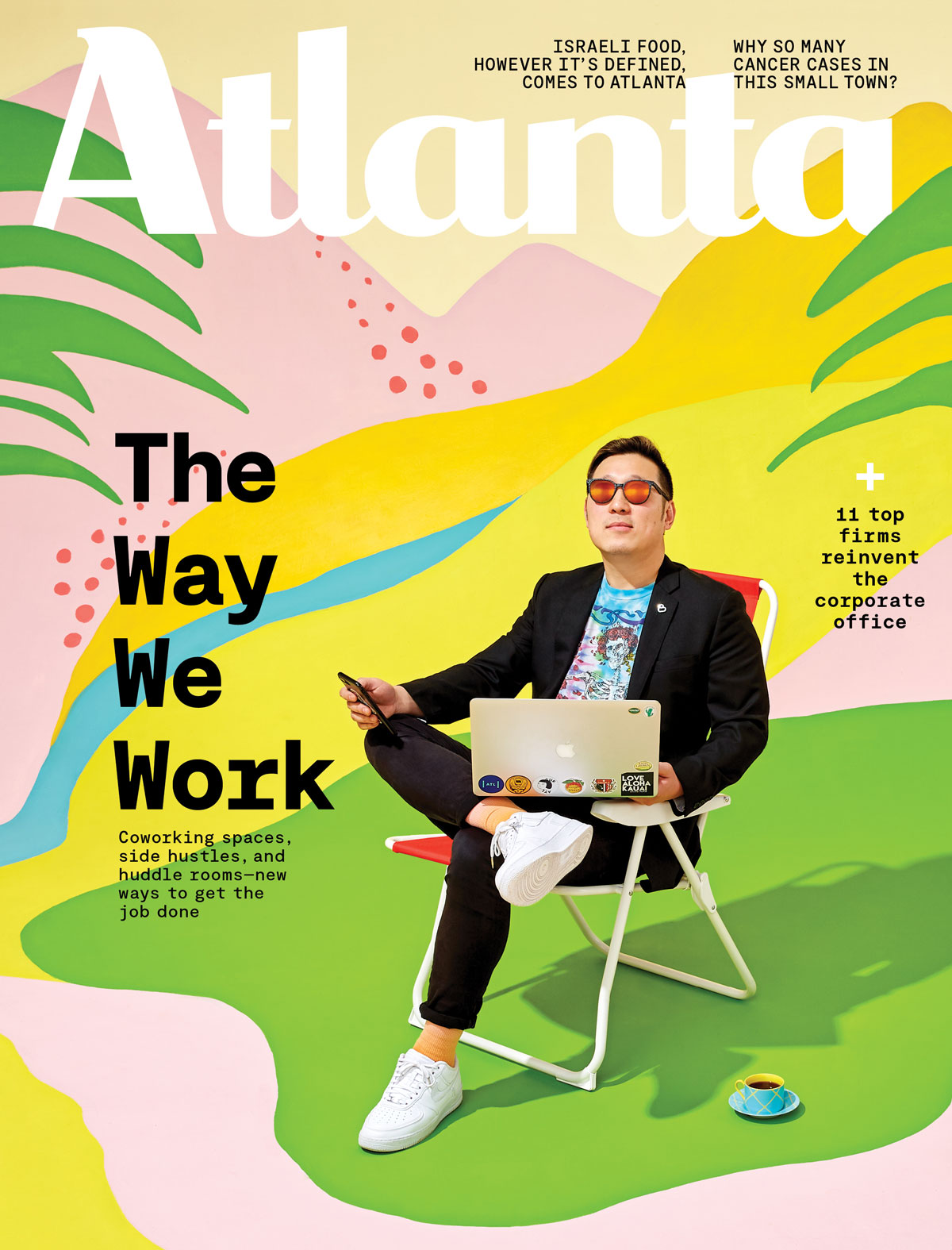 Atlanta Magazine May 2019 cover - The Way We Work