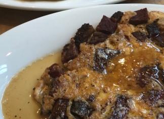 Todd Ginsberg pastrami and maple matzo brei recipe