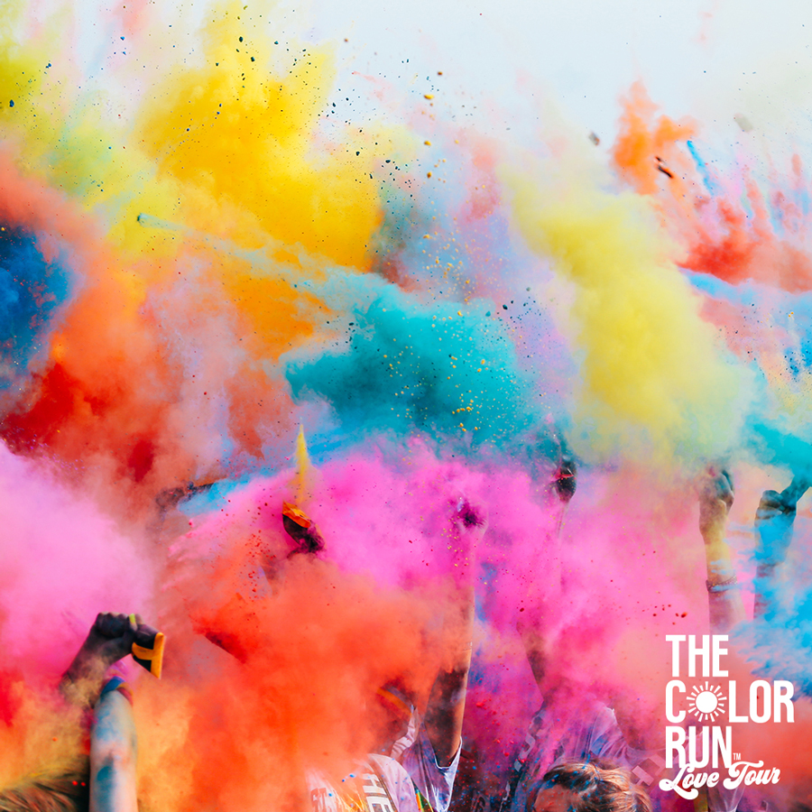 Color Run 5k Atlanta things to do