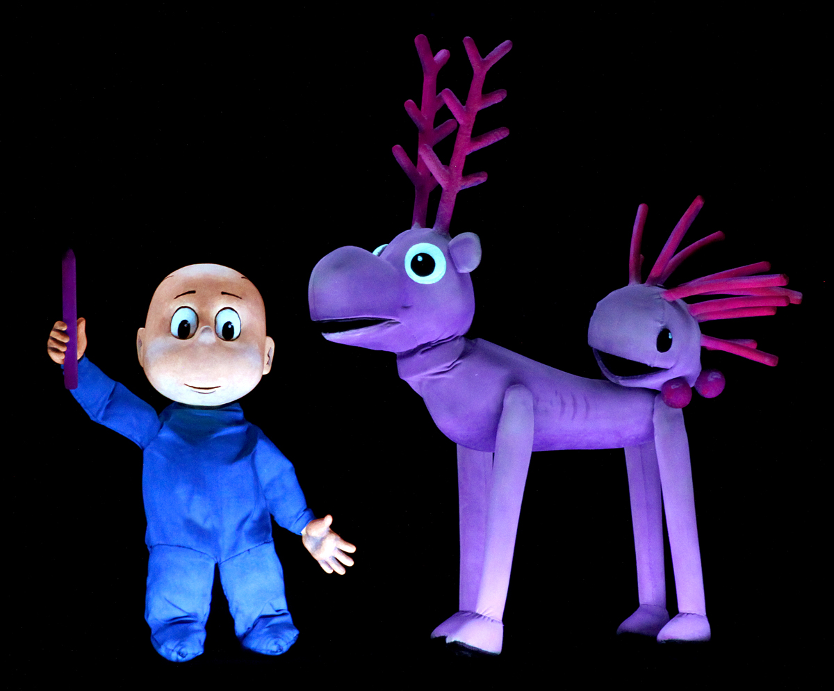 Harold and the Purple Crayon Center for Puppetry Arts