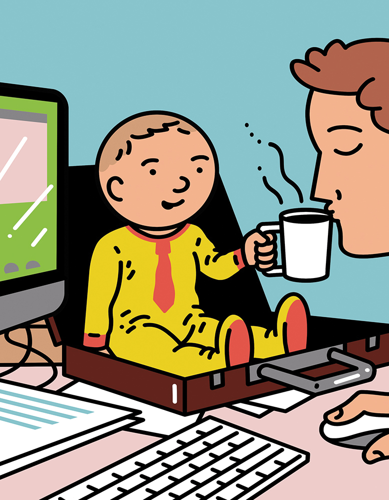 The Way We Work: Babies at work