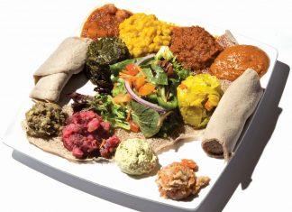 75 Best Restaurants in Atlanta: Desta Ethiopian Kitchen