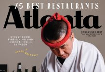 Atlanta Magazine June 2019 cover - 75 Best Restaurants in Atlanta