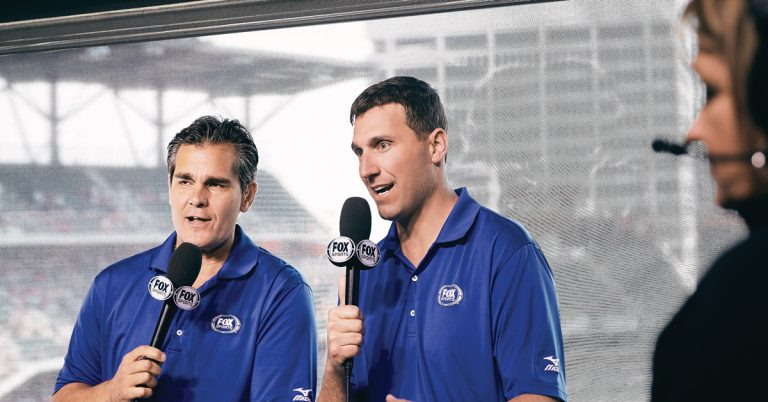 From the baseball field to the broadcast booth, Jeff Francoeur is still knocking it out of the park