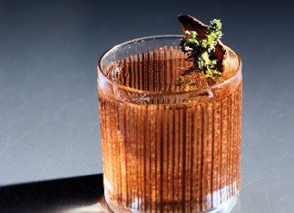 Gunshow's Mushroom Tonic cocktail