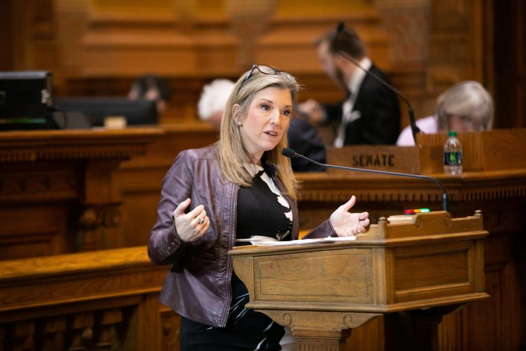 """Georgia Senator Jen Jordan on her HB 481 speech: """"The least that women should be given is the ability to control our bodies."""""""