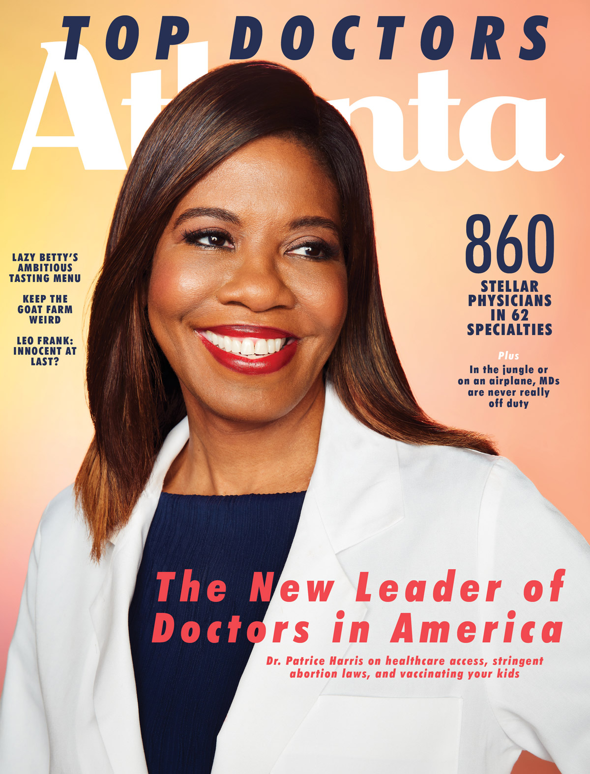 Atlanta Magazine July 2019 cover - Top Doctors